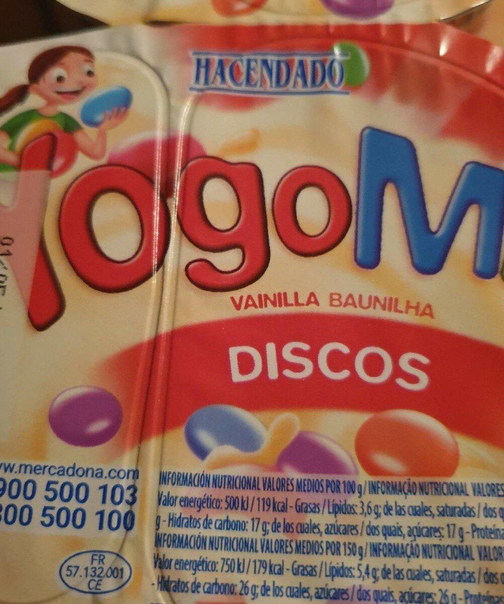 Yogomix discos - Producte - es
