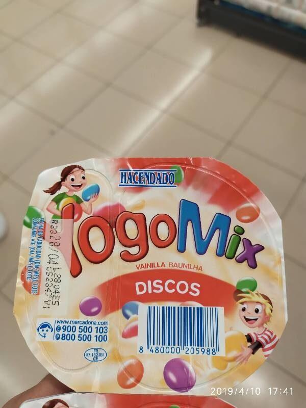 Yogomix discos - Product