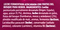 L.casei - Ingredientes