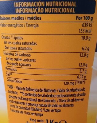 Yogur al estilo GRIEGO NATURAL - Prodotto - es