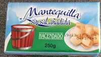 Mantequilla sin sal - Producto - es