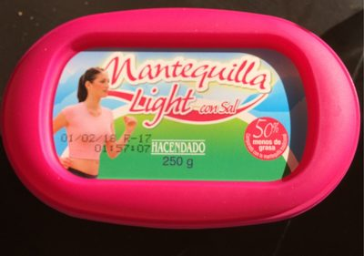 Mantequilla light - Producto