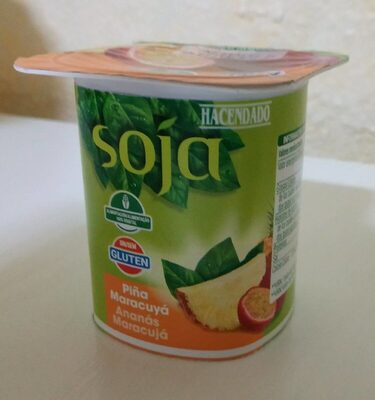 Postre de soja piña maracuyá - Produit - es