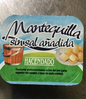 Mantequilla Sin Sal Añadida - Ingredientes - es