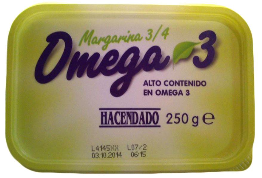 Margarina omega 3 - Product - es