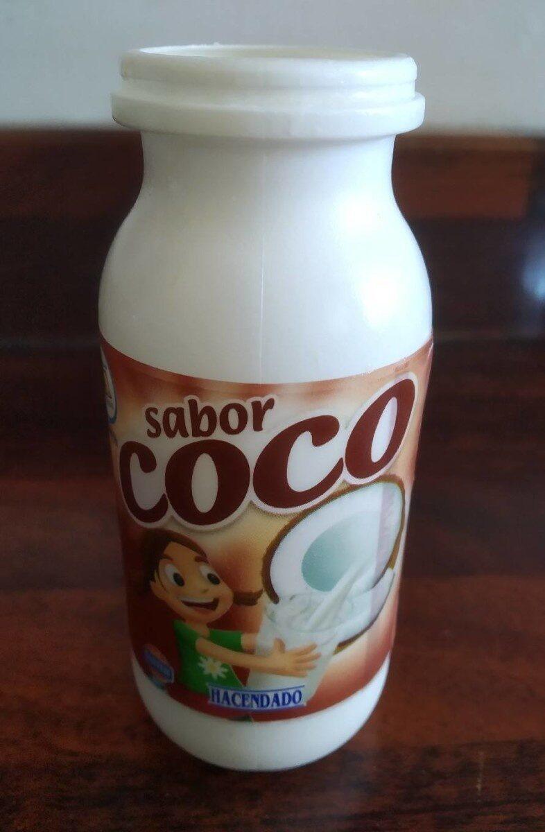 Yogur de beber sabor coco - Product