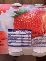 L.casei sabor fresa - Nutrition facts - es
