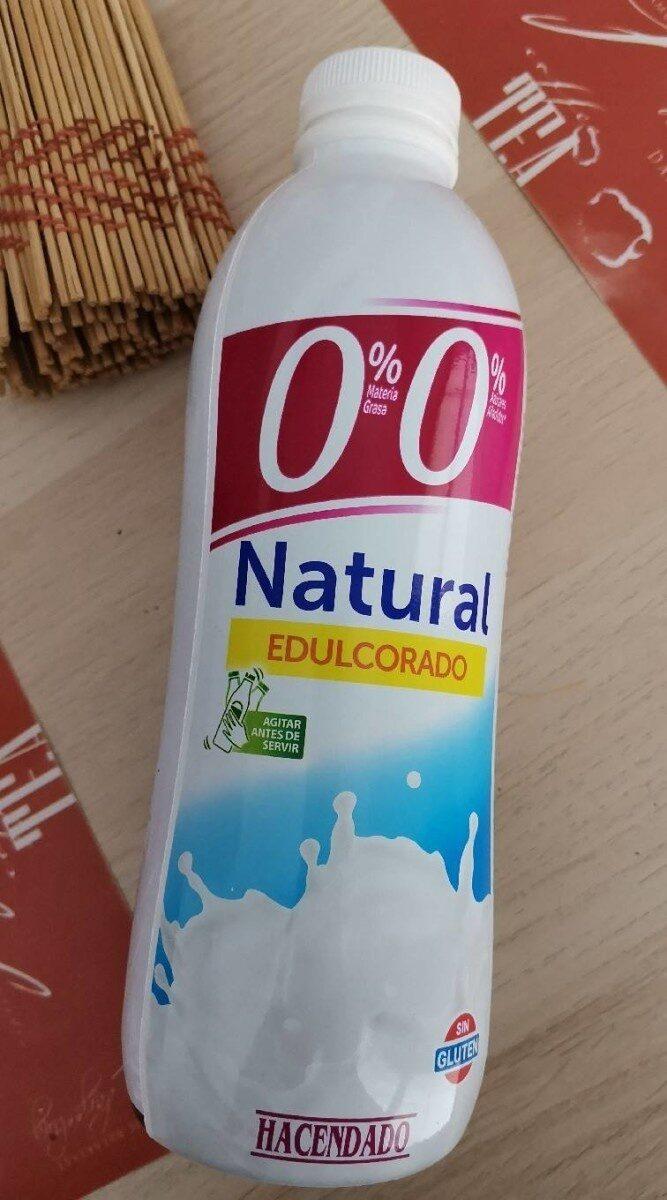 Yogur líquido natural 0% - Produit - es