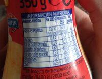 Batido +proteínas sabor fresa - Información nutricional - es