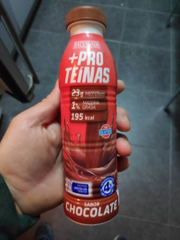 Batido +proteinas sabor chocolate - Producto - es