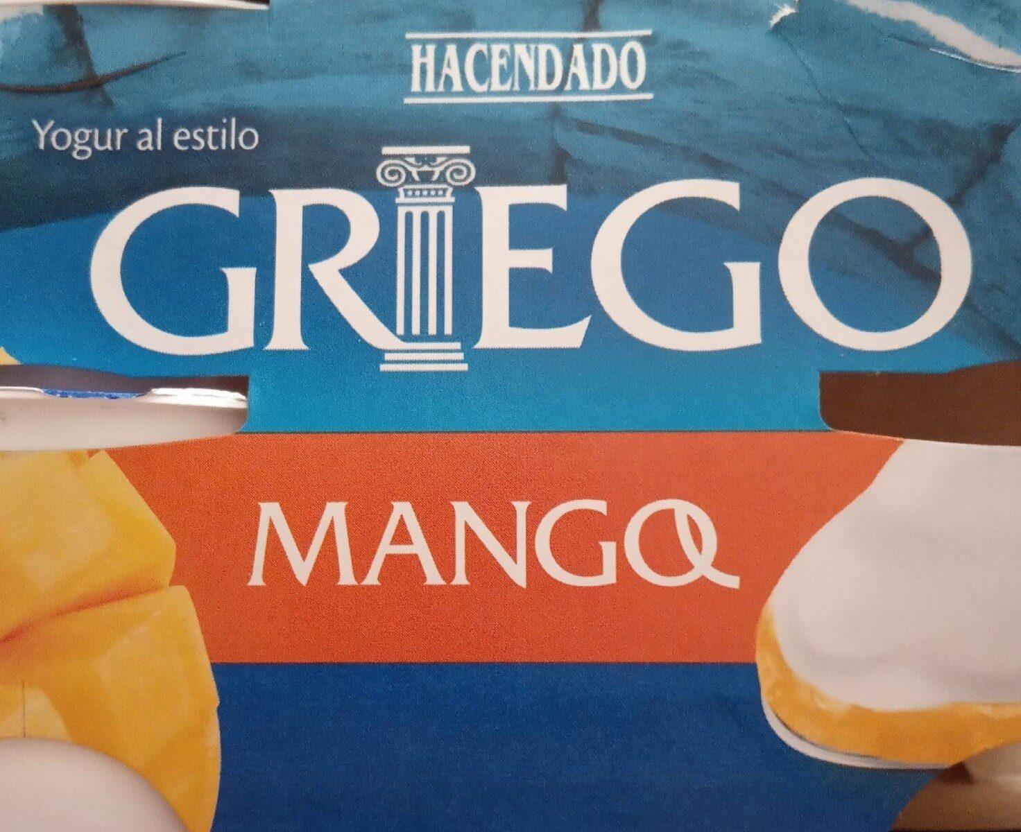 Yogur Al Estilo Griego Con Mango - Product