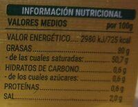Mantequilla de Irlanda (con sal) - Voedingswaarden - es