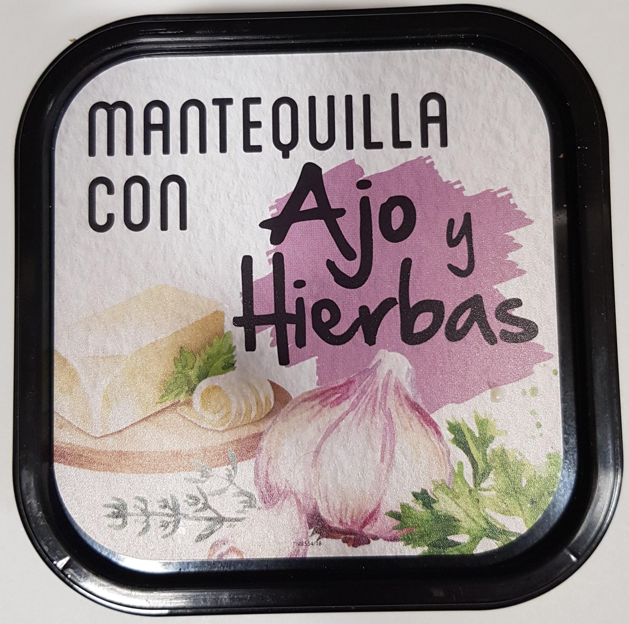 Mantequilla con ajo y hierbas - Producte - es