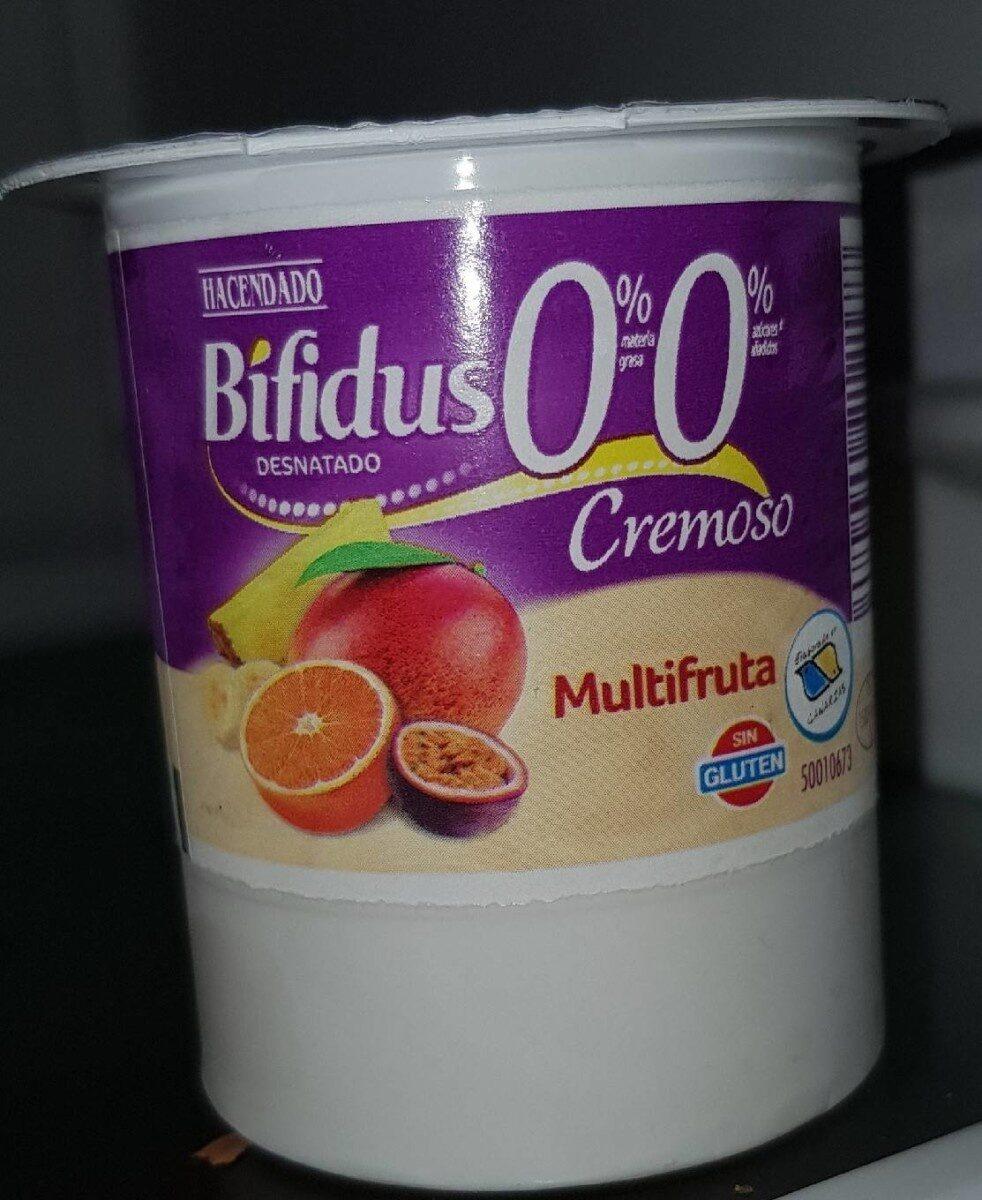 Bifidus 0% cremoso multifruta - Product