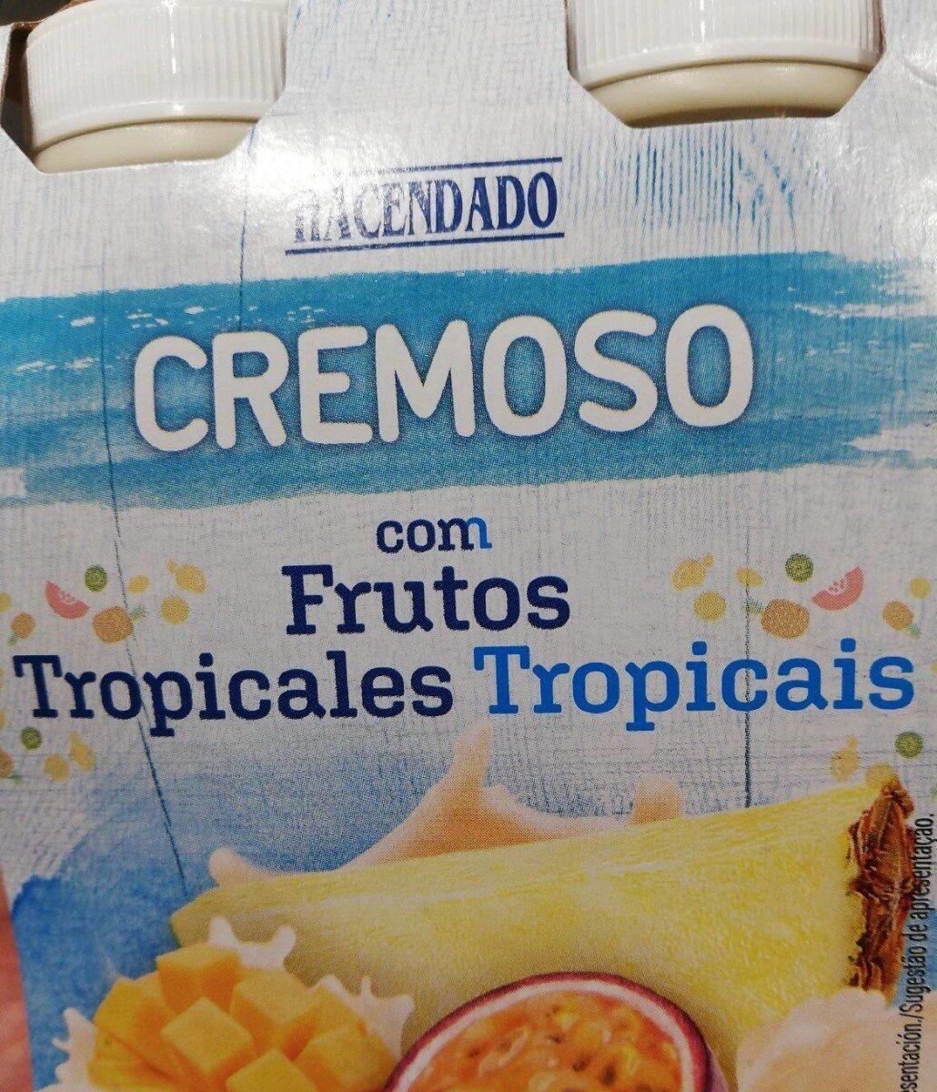 Yogur Líquido Cremoso Aromatizado Con Pulpa De Frutos Tropicales - Product