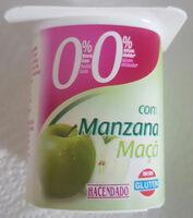 Yogur Desnatado Con Manzana Con Edulcorante - Producto