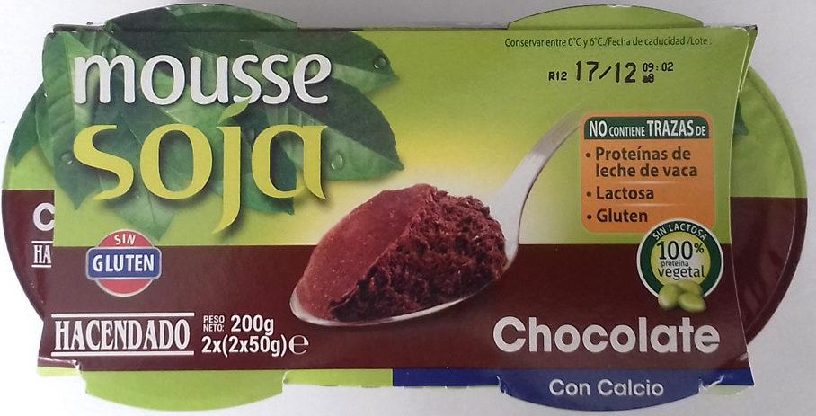 Mousse soja chocolate - Producto - es