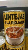 Lentejas A La Riojana - Product
