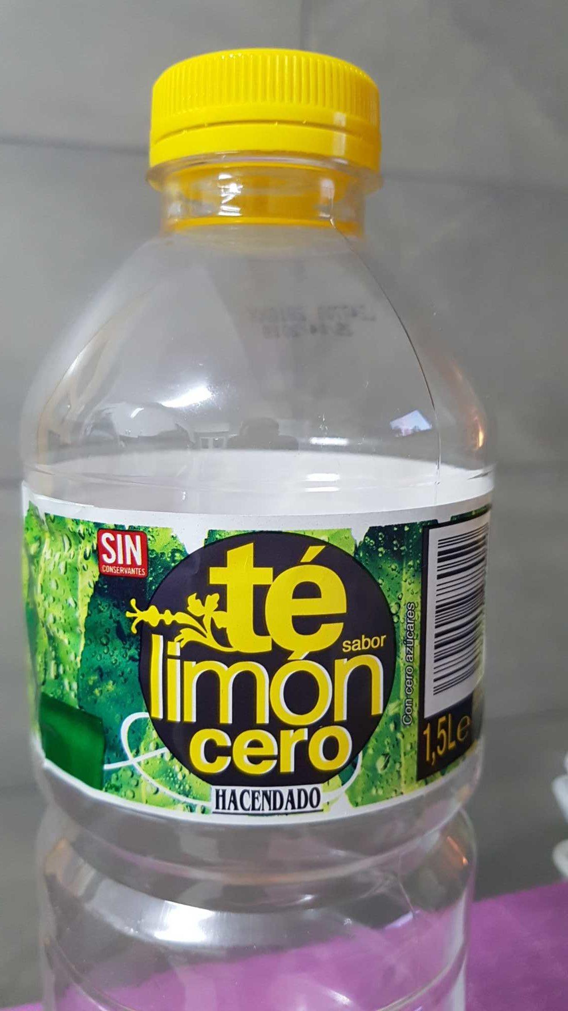 Té limón cero - Producto - es