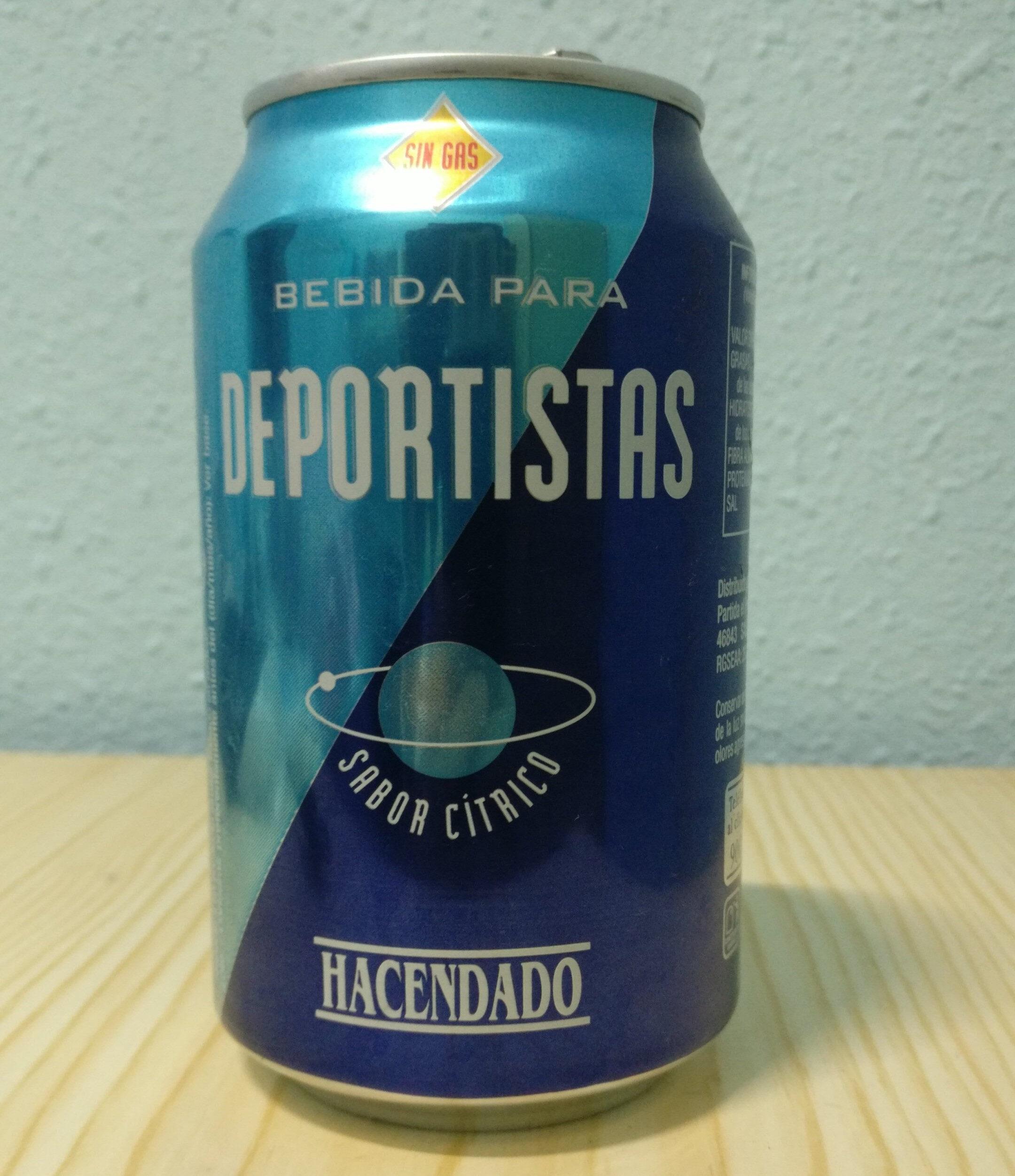Bebida Para Deportistas Sabor Cítrico - Producto