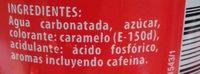Hacendado-cola-330ml-spain - Ingredients