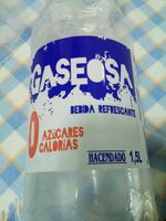 Gaseosa - Producte