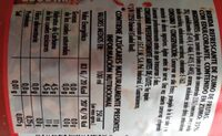 Refresco sin gas - Informations nutritionnelles - es