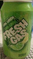 Fresh gas lima limón - Producto - es