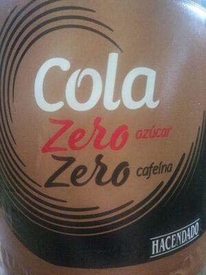 Cola zero - Product - es