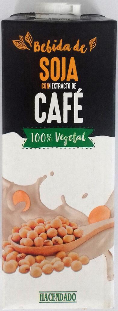 Bebida de Soja con extracto de Café - Produit