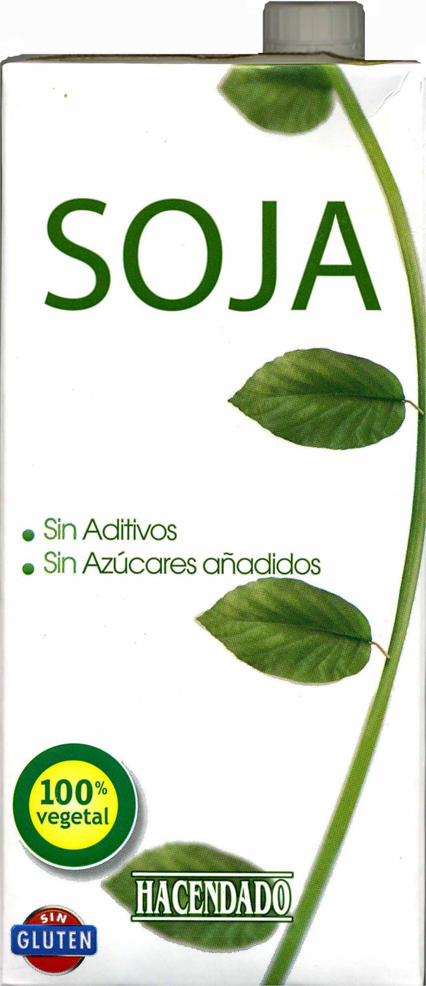 Bebida de soja sin azúcares añadidos - Producte