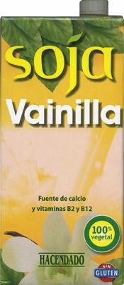 """Bebida de soja """"Hacendado"""" Vainilla - Producto"""