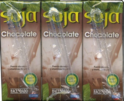 Bebida de soja chocolate - Producte - es