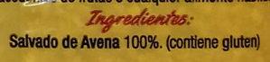 Salvado de avena - Ingredients