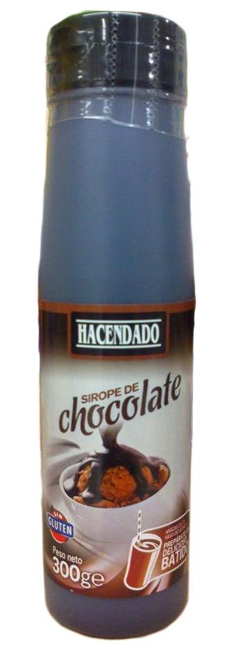 Sirope de chocolate - Producte
