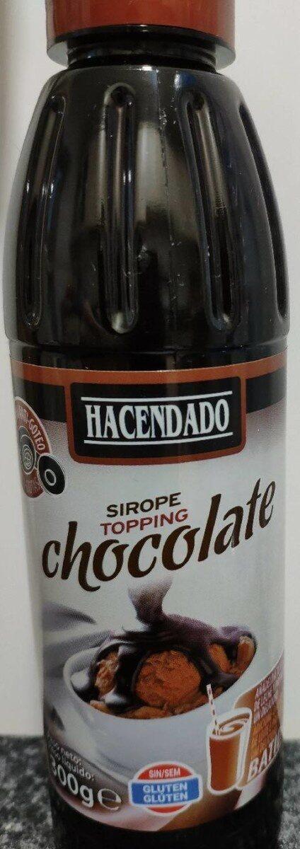 Sirope de chocolate - Produit - es