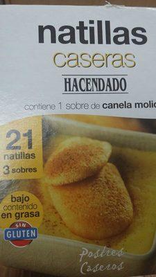 Natillas Caseras - Product