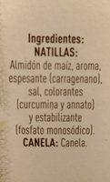 Natillas caseras con canela - Ingrédients - es