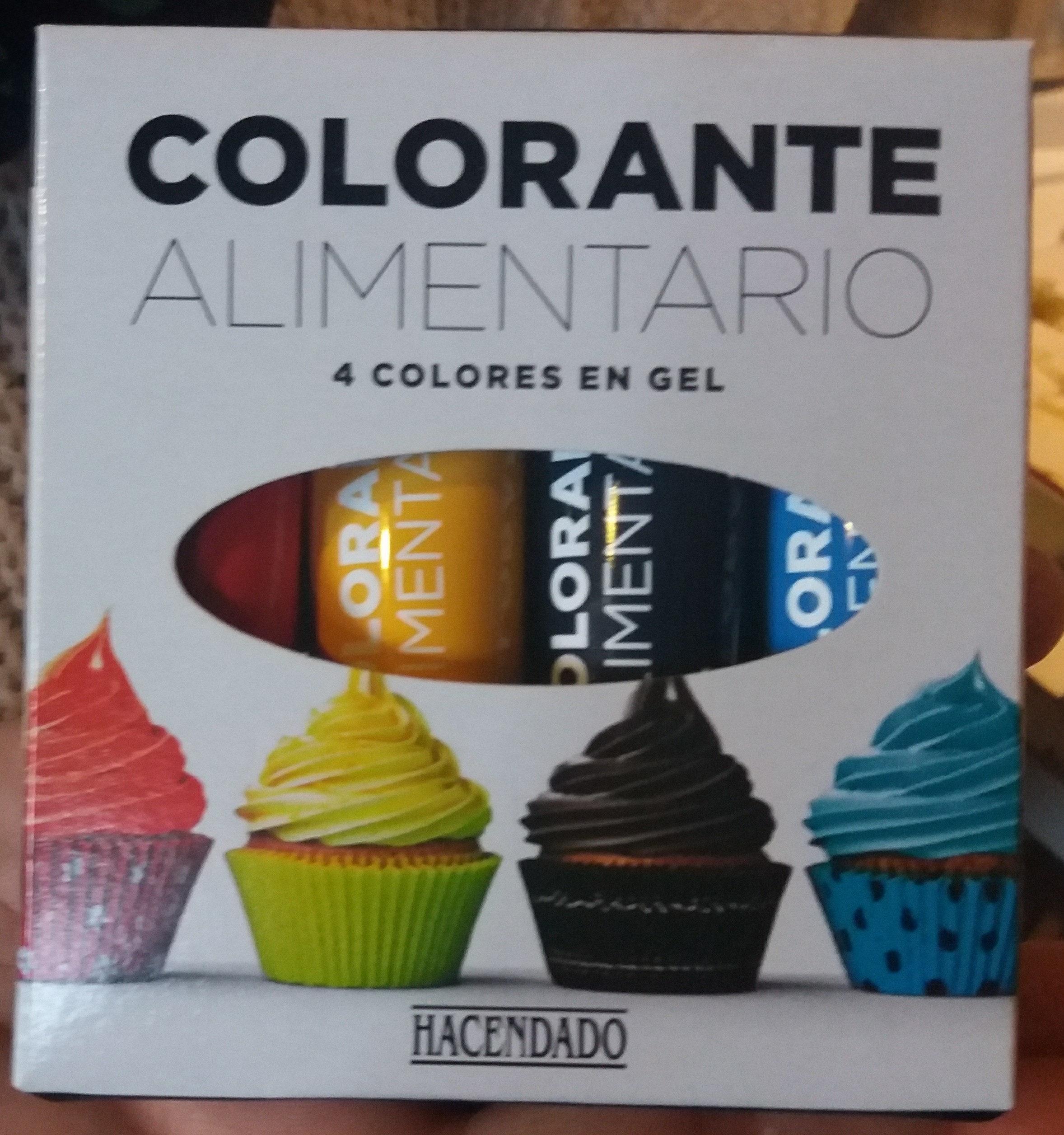 Colorante alimentario - Producte