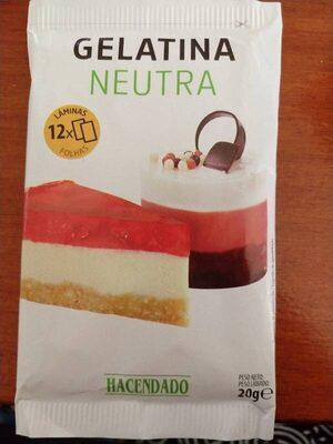 Gelatina neutra - Product - es
