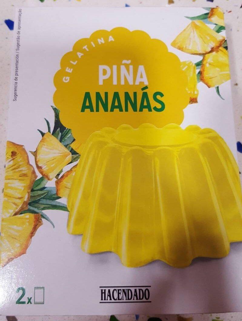 Galatina Piña - Producto