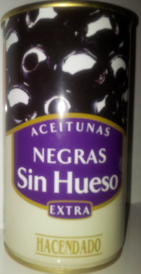 Aceitunas Negras sin Hueso - Producto