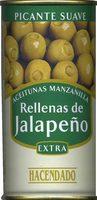 Aceitunas Manzanilla Rellenas de Jalapeño - Producto
