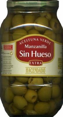 Aceituna verde manzanilla sin hueso - Product - es
