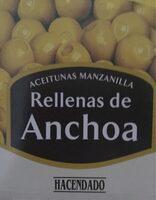 Aceitunas Verdes Rellenas De Anchoa - Categoria Selecta - Product
