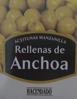 Oliven, Grün, Anchoa, Olive - Producto