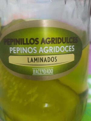 Pepinillos agridulces laminados - Producto - es