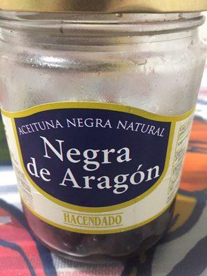 Aceitunas naturales de aragon - Product