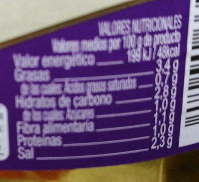 Banderillas dulces - Información nutricional - es