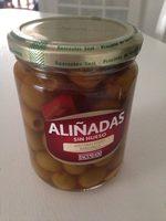 Aceitunas Manzanilla Verde Sin Hueso Aliñada - Product